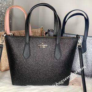 💫SALE 💫 Kate Spade Joeley SM Glitter Satchel Bag